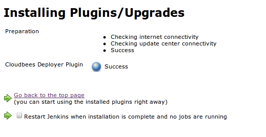 Jenkins install plugins